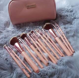 BH Cosmetics Chic Brush Set #maudecay