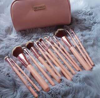 BH Cosmetics Chic Brush Set #maudecay