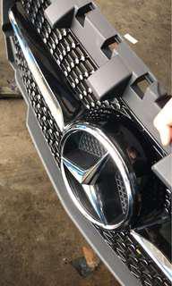 W117 CLA180 Diamond Grill (facelift 2018)