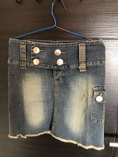 Rok Jeans Denim Fashion