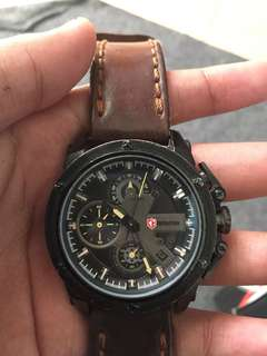 Expedition E6603M Strap Kulit