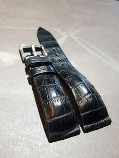 100% Handmade Genuine Crocodile  Leather Watch Strap