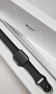 全新未激活行貨 Apple Watch Series 3 38mm Space Gray AI Gray Sport (GPS + Cellular)