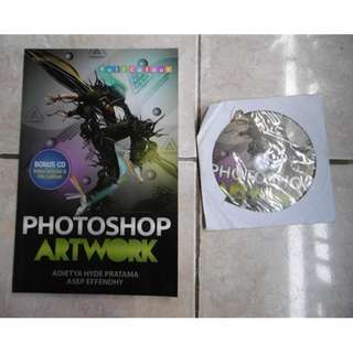 Buku Design Graphic PHOTOSHOP ARTWORK Desain Grafis