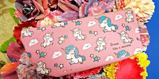 Pink Unicorn Pencil Box