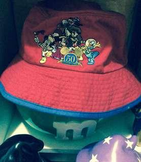 絕版迪士尼古著漁夫帽