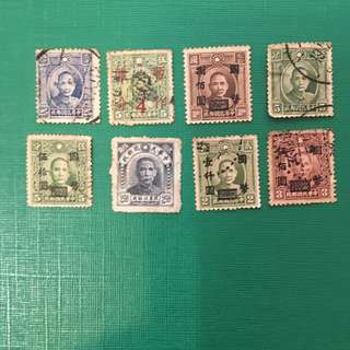 TAIWAN OLD STAMPS