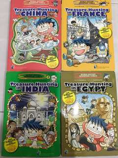 Treasure Hunting (China, France, India, Egypt)