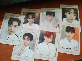WTS Wanna One Undivided Art Book Pc