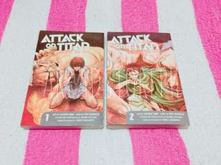 Attack on Titan: Before the Fall Vol. 1&2