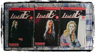 冨樫義博 靈異系列 <Level-E> 1-3卷完