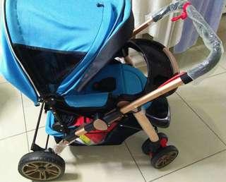 Baby Stroller -80%new