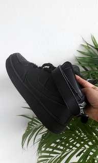 Inspired Nike Air Force Black