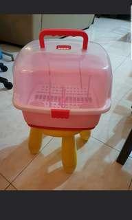 Multifunctional Baby Milk Bottle Storage Box Container