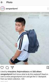 Zero Gravity Backpack (Good as new)