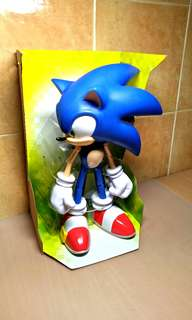 20 Anniversary, Year 2011 Sonic The Hedgehog Deluxe Collector's Action Figure. ( Brand New with Original Box Attached )