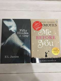 Books by EL James, Jojo Moyes