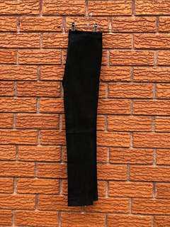 Kookai Lamb Leather Suede pants