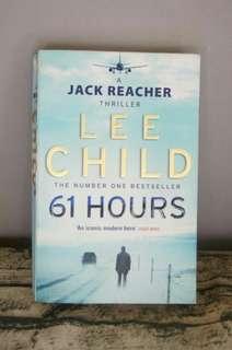 61 Hours Lee Child Jack Teacher Thriller English Fiction Novel best seller