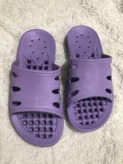 🚚 台灣製防水拖鞋 浴室拖鞋 室內拖鞋 輕量 紫色