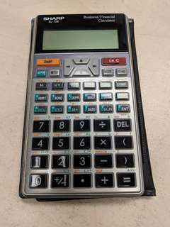 Sharp EL-738 Business / Financial Calculator