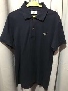Lacoste Dark Blue Polo Shirt (Authentic)