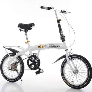 Free Delivery -Full suspension-Brand new Foldable Bicycle with Disk brakes &7 -SPEED Shimano gear etc