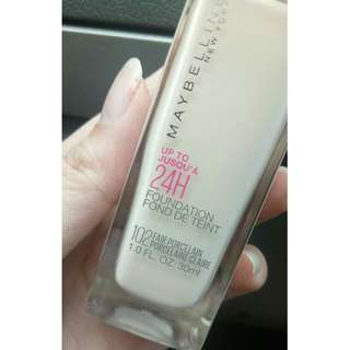 Foundation Maybelline Superstay 24 Hr