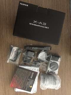 Kamera Mirrorless Fujifilm X-A3 (Brand New)