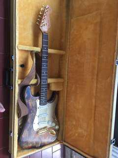 Gitar Fender stratocaster relic custom