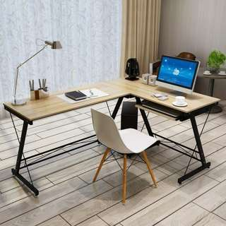 L-Shaped Office / Study / Computer Table