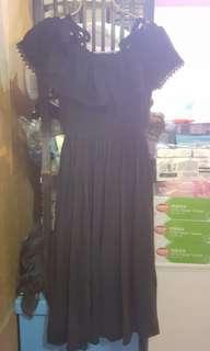 連身裙,可露愽着,Size: one size ,全新未着過