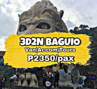 baguio travel and tour 🚐