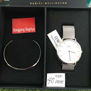 Authentic DW Watch Set size 40mm