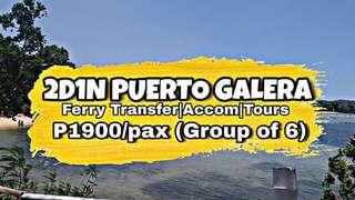 Puerto galera travel and tour