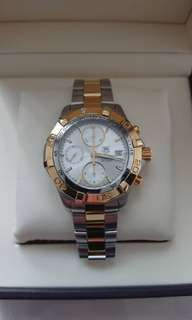 Tag Heuer Aquaracer Chrono Gold
