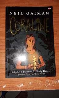 Coraline oleh neil gaiman