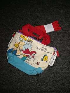 Little mermaid cute sling pouch