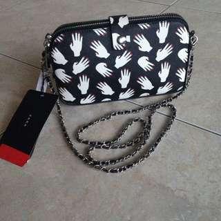 Zara Chain Sling Bag/Clutch