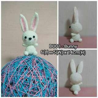 BU01 - Bunny Crochet doll Preorder handmade