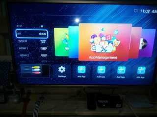 32inch ace smart tv w/tvplus