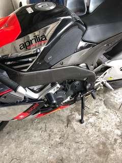 Aprilia Rsv4 carbon fibre frame cover