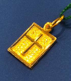 (916 Gold) - Gold Cross Pendent for ladies ❤️❤️
