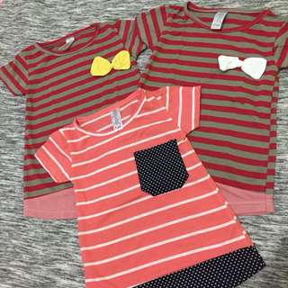 Stripes tee 1 years / 2 years