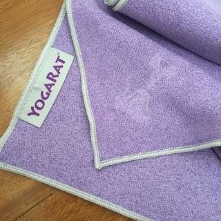 YogaRat Yoga Towel- Purple