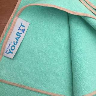 YogaRat Yoga Towel- Mint Green