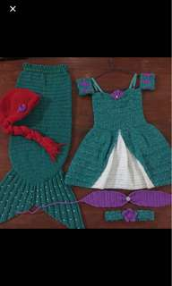 Mermaid Costume (SOLD AS SET)