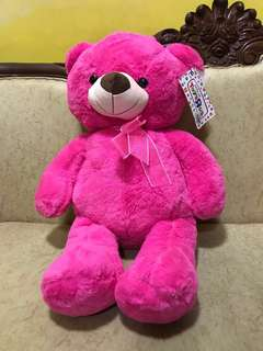 Pink Teddy Bear from Toys R Us