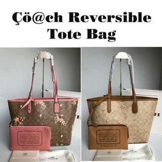 Authentic Coach Reversible Tote (Limited Edition)