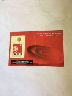 SINGAPORE CELEBRATES THE NEW MILLENNIUM CASHCARD